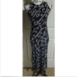 All That Jazz Black White Vintage Dress